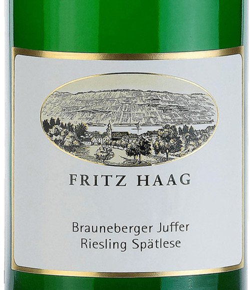 Haag/Fritz Riesling Spätlese Brauneberger Juffer 2018