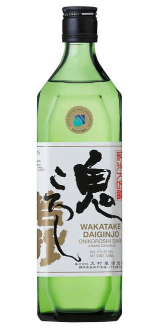 """Wakatake Onikoroshi """"Demon Slayer"""" Daiginjo Sake 720ml"""