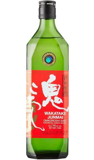 "Wakatake Onikoroshi ""Demon Slayer"" Junmai Sake 720ml"