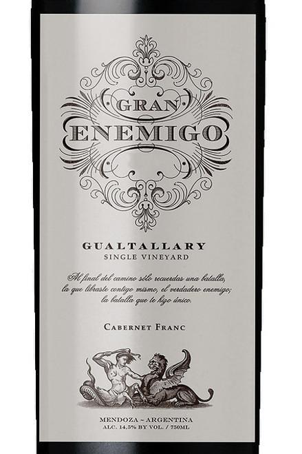 Aleanna Gran Enemigo Gualtallary Single Vineyard 2016