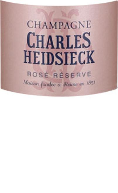 Heidsieck/Charles Brut Champagne Rosé Réserve NV