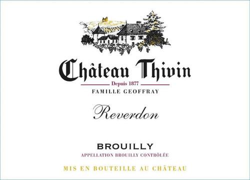 Thivin Brouilly Reverdon 2019