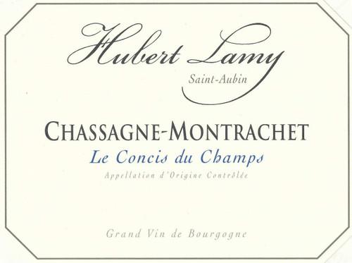 """Lamy/Hubert Chassagne-Montrachet """"Le Concis du Champs"""" 2018"""