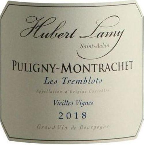 Lamy/Hubert Puligny-Montrachet Les Tremblots Vieilles Vignes 2018