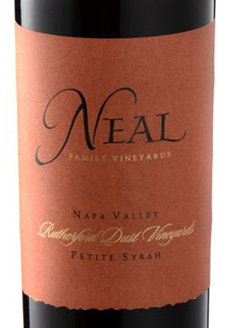 Neal Family Petite Syrah Napa Valley Rutherford Dust Vineyards 2014