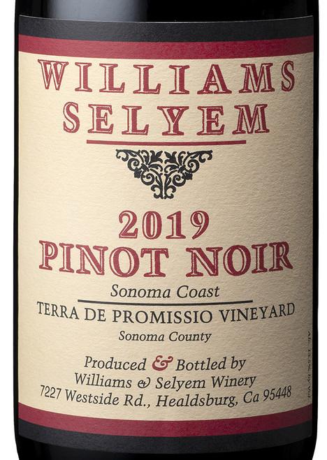 Williams Selyem Pinot Noir Terra de Promissio Vineyard 2019