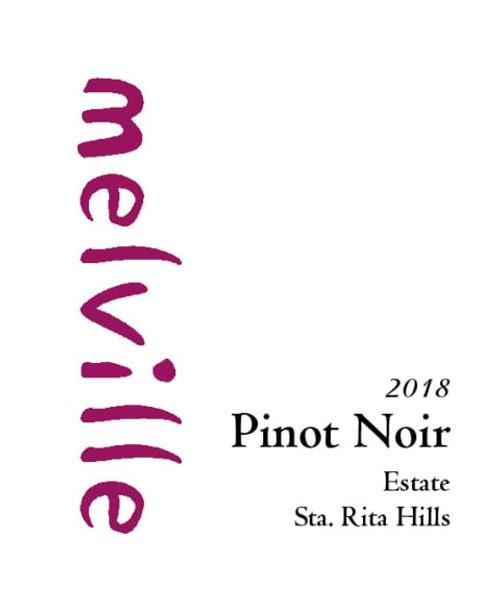 Melville Pinot Noir Sta. Rita Hills Estate 2018