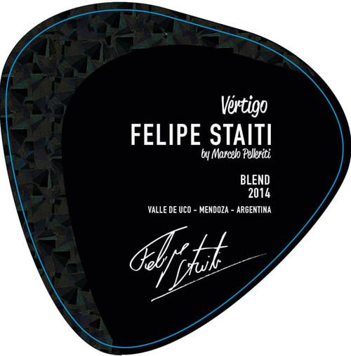 Felipe Staiti Malbec-Syrah 'Vertigo' Valle de Uco 2014