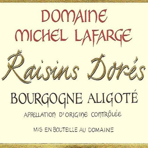 Lafarge Bourgogne Aligoté Cuvée Raisins Dorés 2018