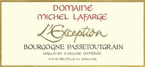 Lafarge Bourgogne Passetoutgrain l'Exception 2018
