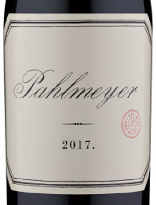 Pahlmeyer Proprietary Red Napa Valley 2017