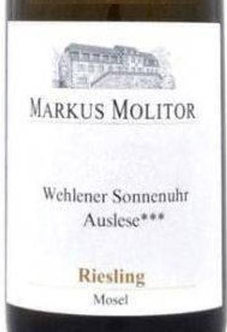 Molitor/Markus Riesling Auslese*** Wehlener Klosterberg Green Cap 2018