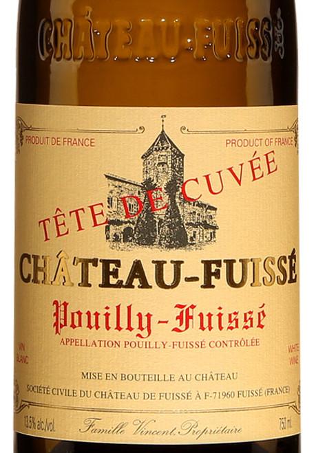 Château-Fuissé Pouilly-Fuissé Tête de Cuvée 2018