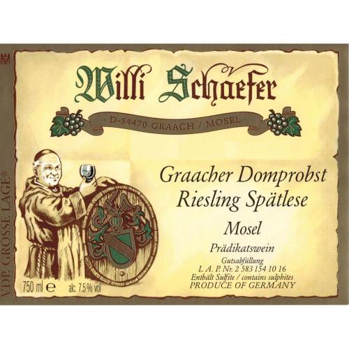 Schaefer/Willi Riesling Spätlese Graacher Domprobst #5 2018