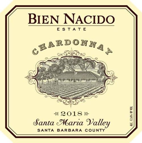 Bien Nacido Estate Chardonnay Santa Maria Valley 2018