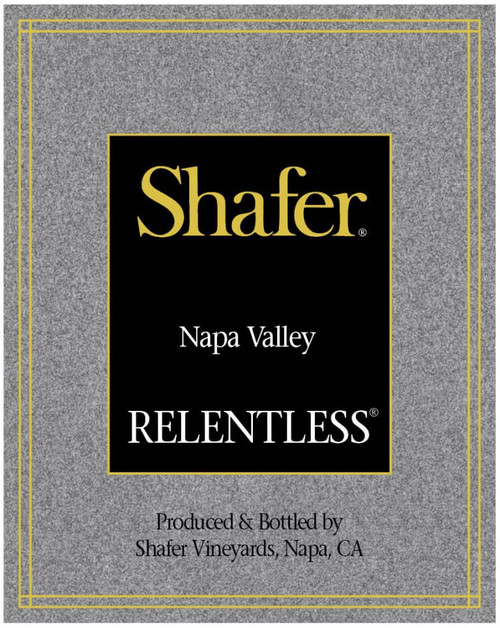 Shafer Relentless Napa Valley 2017