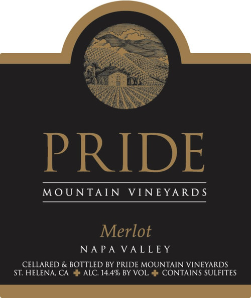 Pride Mountain Merlot Napa-Sonoma Counties 2018