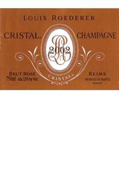 Roederer/Louis Brut Rosé Champagne Cristal late release 2002