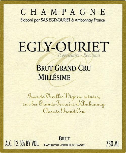 Egly-Ouriet Brut Champagne Grand Cru 2011