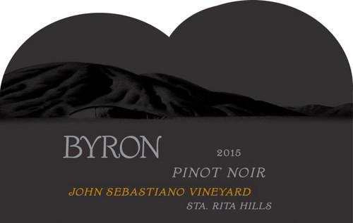 Byron Pinot Noir Sta. Rita Hills John Sebastiano Vineyard 2015