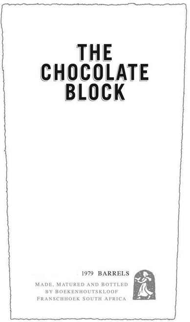 Boekenhoutskloof The Chocolate Block Franschhoek 2018