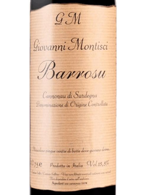 Montisci/Giovanni Cannonau di Sardegna Barrosu 2018