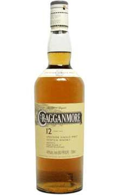 Cragganmore Speyside Single Malt Scotch Whisky 12 Year