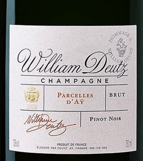Deutz Brut Champagne Hommage À William Deutz Parcelles d'Aÿ 2010 1.5L