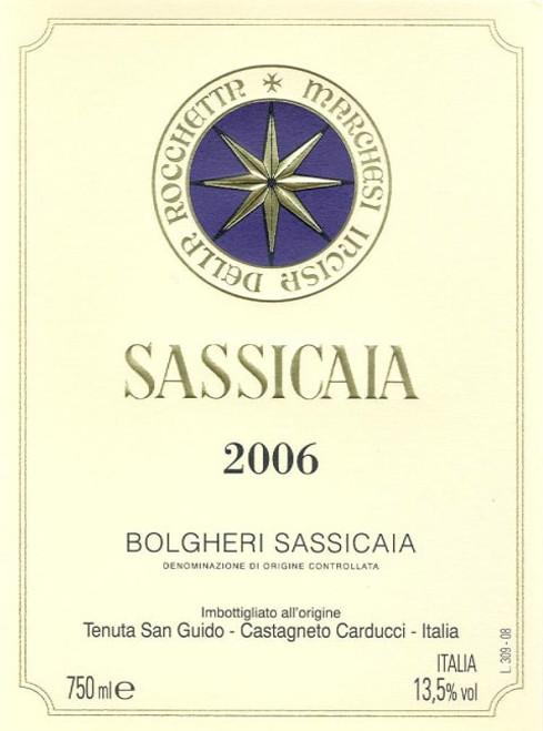 Tenuta San Guido Sassicaia 2006