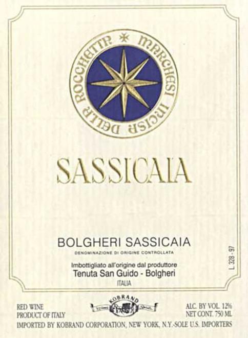 Tenuta San Guido Sassicaia 2008