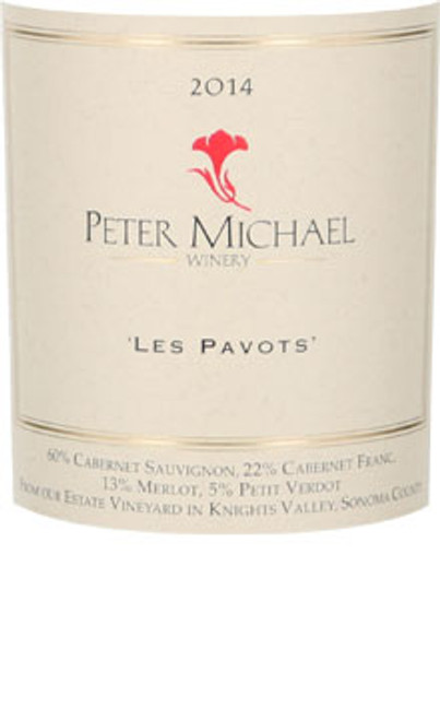 Peter Michael Les Pavots Knights Valley 2014