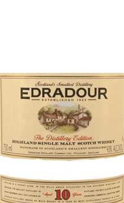 Edradour 10 Year Highland Single Malt Scotch