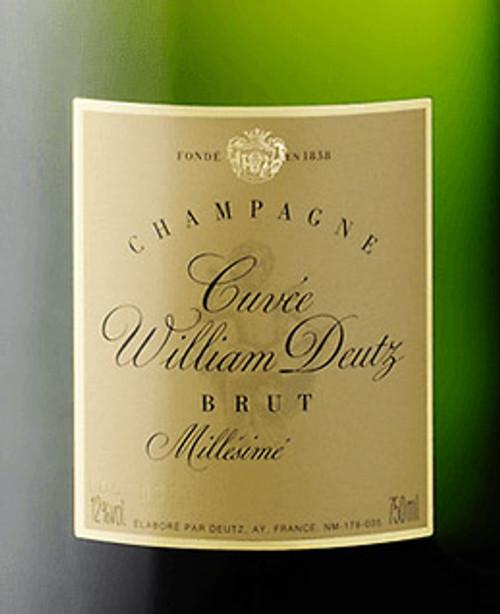 Deutz Brut Champagne Cuvée William Deutz 2009 375ml
