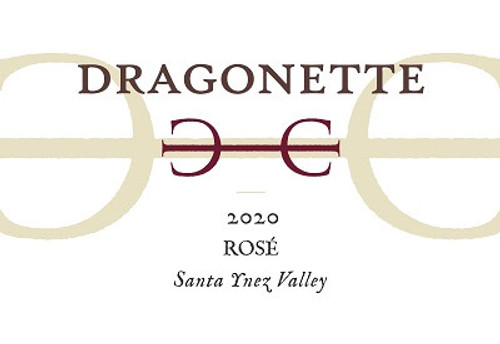 Dragonette Rosé Santa Ynez Valley 2020