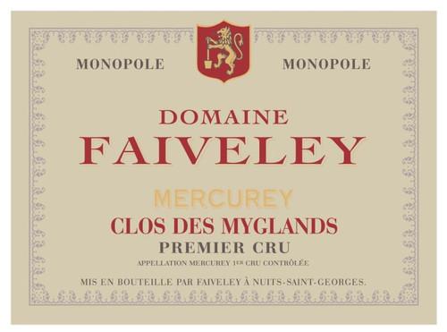 Faiveley Mercurey 1er cru Clos des Myglands 2018