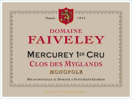 Faiveley Mercurey 1er cru Clos des Myglands 2018 3L