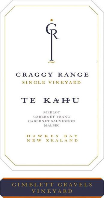Craggy Range Te Kahu Gimblett Gravels Vineyard Hawkes Bay 2018