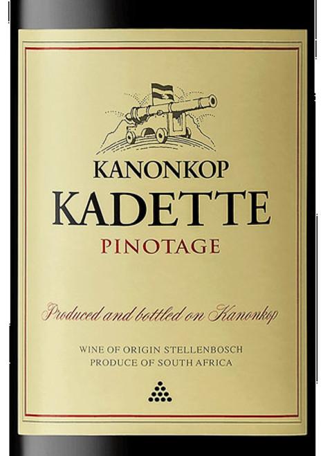 Kanonkop Pinotage Kadette Stellenbosch 2018