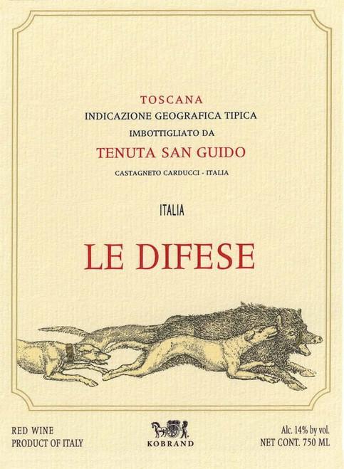 Tenuta San Guido Toscana Le Difese 2018