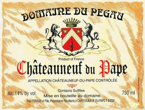Pégaü Châteauneuf-du-Pape Cuvée Réservée 2018