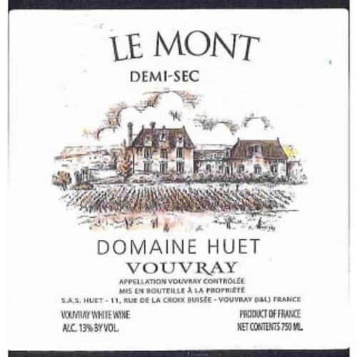 Huët Vouvray Le Mont Demi-Sec 1985