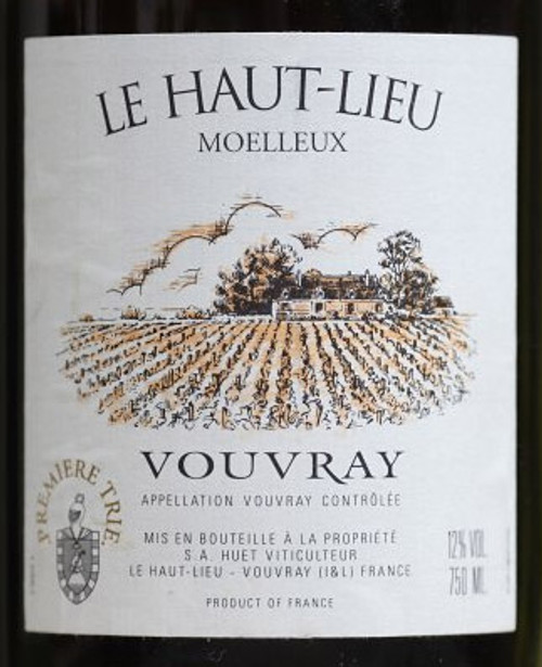 Huët Vouvray Le Haut-Lieu Moelleux 1921