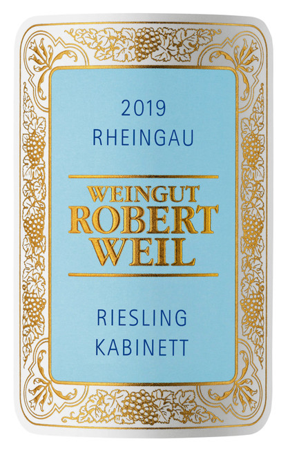 Weil/Robert Riesling Kabinett Rheingau 2019