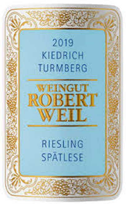 Weil/Robert Riesling Spätlese Kiedrich Turmberg 2019