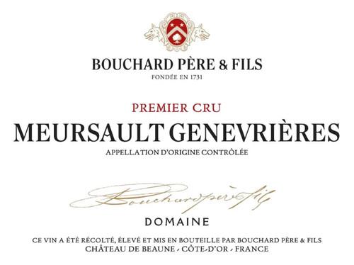 Bouchard Meursault 1er cru Les Genevrières 2016