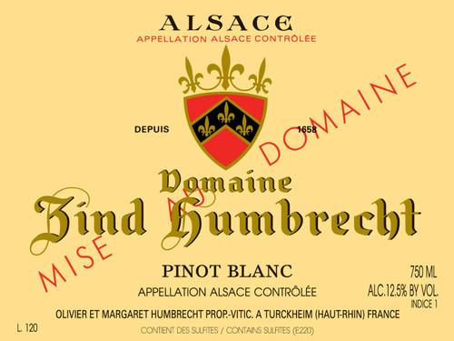 Zind-Humbrecht Pinot Blanc Alsace 2019