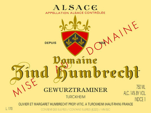Zind-Humbrecht Gewürztraminer Turckheim 2019