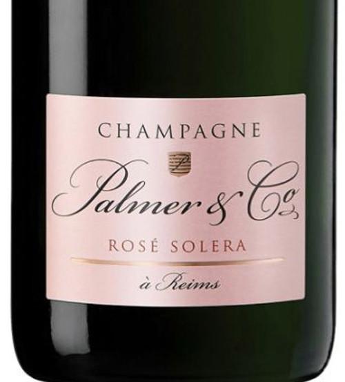 Palmer & Co Rosé Solera Brut Champagne NV