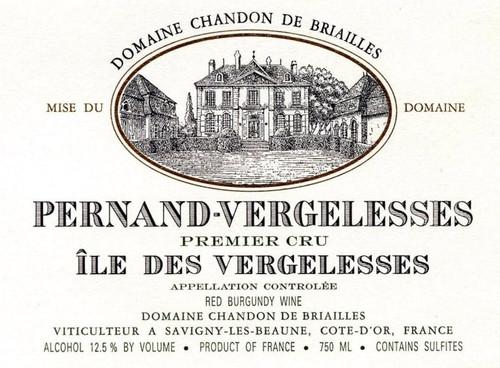 Chandon de Briailles Pernand-Vergelesses 1er cru Ile Vergelesses 2018