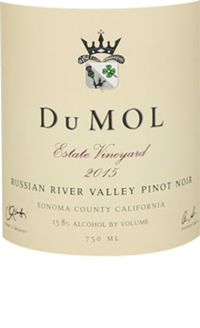 DuMol Pinot Noir Russian River Valley Estate 2015